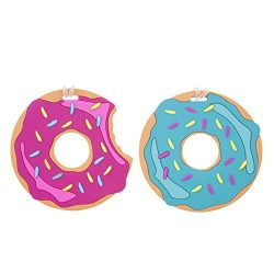 Travelon Luggage Tags Oversized Set of 2, Doughnuts