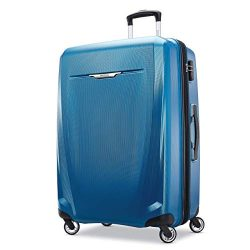 Samsonite Checked-Large, Blue/Navy