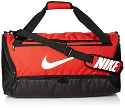Nike Brasilia Training Medium Duffle Bag, Durable Duffle Bag for Women & Men with Adjustable ...