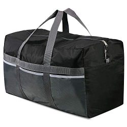 REDCAMP Extra Large Duffle Bag Lightweight, 96L WaterProof Travel Duffle Bag Foldable for Men Wo ...