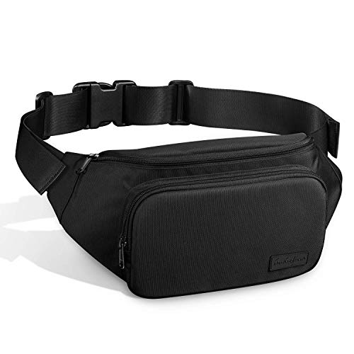 Fanny Pack for Women and Man Waist Pack Waist Bag Bum bag with adjustable Strap Large Capacity p ...