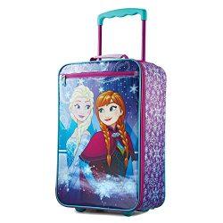 American Tourister Kids Softside 18″ Upright, Frozen