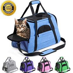 Prodigen Pet Carrier Airline Approved Pet Carrier Dog Carriers for Small Dogs, Cat Carriers for  ...