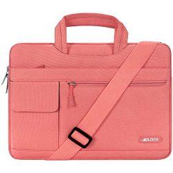 MOSISO Laptop Shoulder Bag Compatible 15-15.6 Inch MacBook Pro, Ultrabook Netbook Tablet, Polyes ...