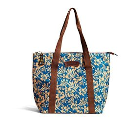 Margaritaville Womens Girls Insulated Chill Travel Tote for Food and Drinks Tropical Hibiscus Te ...