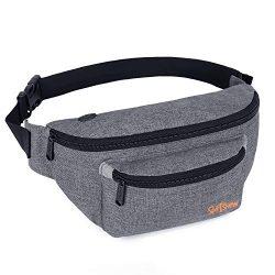 Fanny Packs for Men Women – Waist Bag Packs – Large Capacity Belt Bag for Travel Spo ...
