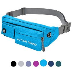 Moyeno Fanny Pack Money Belts for Travel for Men Waterproof Fanny Packs for Women, Workout Fanny ...