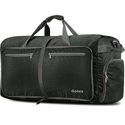 Gonex 150L Extra Large Duffle Bag, Packable Travel Luggage Shopping XL Duffel Gray