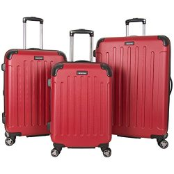 Kenneth Cole Reaction Renegade Lightweight Hardside Expandable 8-Wheel Spinner 3-Piece Luggage S ...