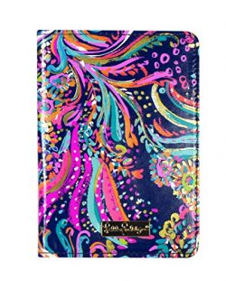 Lilly Pulitzer Passport Cover/ Holder / Wallet, Beach Loot