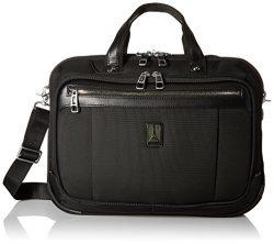 Travelpro PlatinumMagna2 Check Point Friendly Slim Business Brief Bag, 16-In., Black