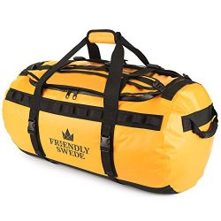 Duffel bag with Backpack Straps for Gym, Travels and Sports – SANDHAMN Duffle – by T ...