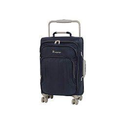 IT Luggage 22″ World's Lightest 8 Wheel Spinner, Magnet With Cobblestone Trim