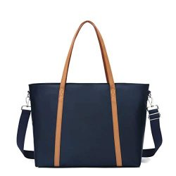 Large Tote Bag for Women, Laptop Work Shoulder Tote Bags with Trolley Sleeve