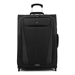 Travelpro Luggage Expandable Checked-Medium, Black