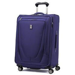 Travelpro Luggage Crew 11 25″ Expandable Spinner Suitcase w/Suiter, Indigo
