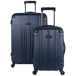 Kenneth Cole Reaction Out Of Bounds 2-Piece Lightweight Hardside 4-Wheel Spinner Luggage Set: 20 ...