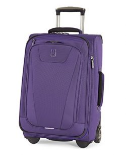 Travelpro Maxlite 4 22″ Expandable Rollaboard Suitcase, Purple