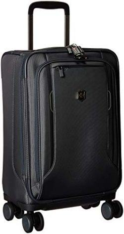 Victorinox Werks Traveler 6.0 Frequent Flyer Softside Carry-On Spinner Suitcase, 21-Inch, Grey