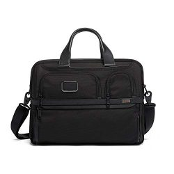 TUMI – Alpha 3 Expandable Organizer Laptop Brief Briefcase – 15 Inch Computer Bag fo ...