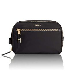 TUMI – Voyageur Erie Double Zip Cosmetic Case – Luggage Accessories Toiletry Bag for ...