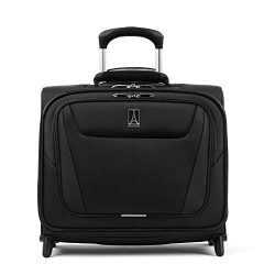 Travelpro Luggage Maxlite 5 16″ Lightweight Carry-on Rolling Tote Suitcase, Black