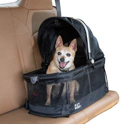 Pet Gear View 360 Pet Carrier & Car Seat for Small Dogs & Cats with Mesh Ventilation for ...