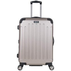 Kenneth Cole Reaction Renegade 24-Inch Lightweight Hardside 8-Wheel Spinner Expandable Checked S ...