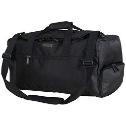 Kenneth Cole Reaction Brooklyn RFID Duffel Bag, Black One Size