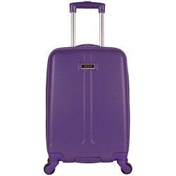 Kenneth Cole Reaction High-Lite 20″ Hardside 4-Wheel Carry-on Luggage, Purple