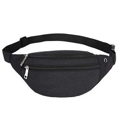 YUNGHE Fanny Pack for Men & Women – Waterproof Waist Bag Pack with Adjustable Strap fo ...