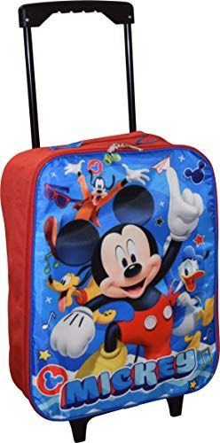 Disney Junior Mickey And The Roadster Racers 15″ Collapsible Wheeled Pilot Case – Ro ...