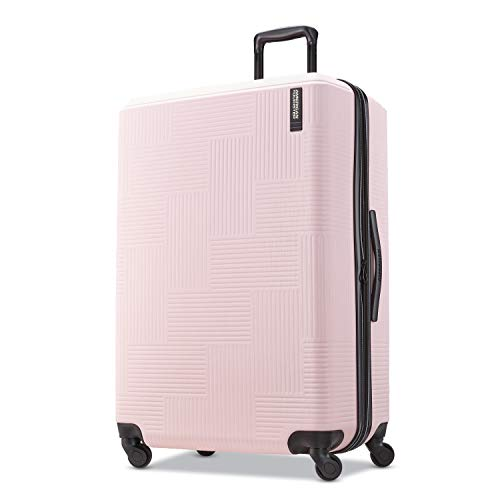 American Tourister Checked-Large, Pink Blush