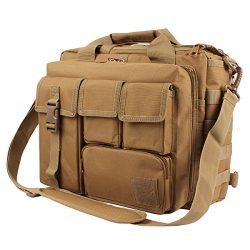 Tactical Briefcase, 15.6″ Men Messenger Bag Military Briefcase for Men