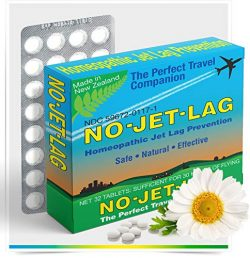 Miers Labs No Jet Lag Homeopathic Remedy + Fatigue Reducer for Airplane Travel Across Time Zones ...