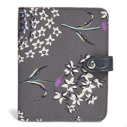 Vera Bradley Midtown RFID Passport Wallet, Dandelion Wishes
