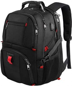 YOREPEK 18.4 Laptop Backpack,Large Computer Backpacks Fit Most 18 Inch Laptop with USB Charger P ...