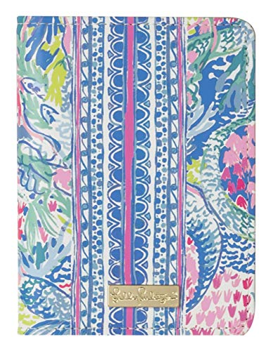 Lilly Pulitzer Passport Cover/Holder/Wallet (Mermaids Cove)