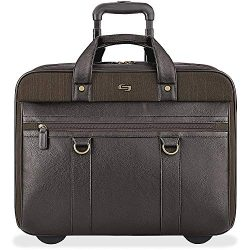 Solo New York Macdougal Rolling Laptop Bag.  Rolling Briefcase for Women and Men. Fits up to 17. ...