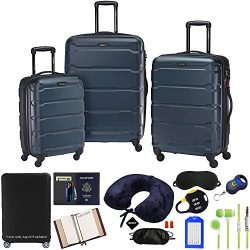 Samsonite 68311-2824 Omni Hardside Luggage Nested Spinner Set 20 Inch, 24 Inch, 28 Inch –  ...
