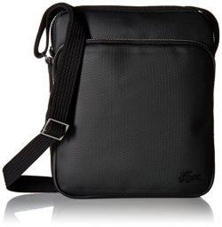 Lacoste Men's Classic Petit Pique Double Bag, black, One Size