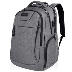 KROSER Laptop Backpack for 15.6-17.3 Inch Laptop Anti-Theft Large Computer Backpack with USB Cha ...