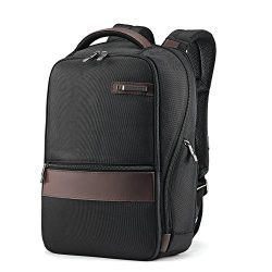 Samsonite Kombi Small Backpack, Black/Brown, One Size