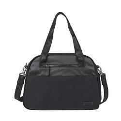 Travelon: Anti-Theft Metro Carryall Tote Bag – Black