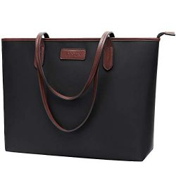 Laptop Bag for Women 15.6-17 inch Lightweight Business Nylon Work Tote Bag Personalized Briefcas ...