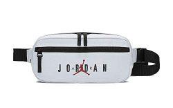 Nike Air Jordan Jumpman Crossbody Bag (One Size, White)