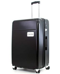 Calvin Klein 29″ Spinner Luggage with TSA Lock, Black
