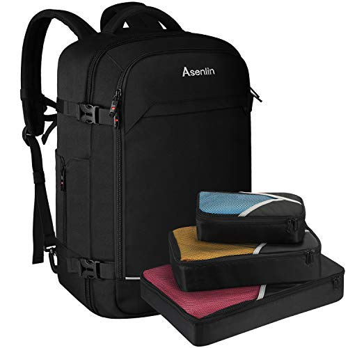 Asenlin Travel Backpack 40L Flight Approved Carrying Backpack Weekend Backpack Overnight Backpac ...