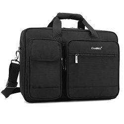 CoolBELL 15.6 Inch Laptop Messenger Bag Briefcase Protective Shoulder Bag Multi-Functional Busin ...