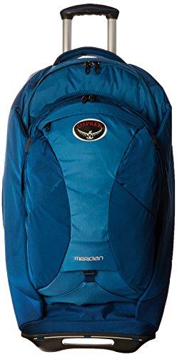 Osprey Packs Meridian 75L/28 Wheeled Luggage, Lagoon Blue